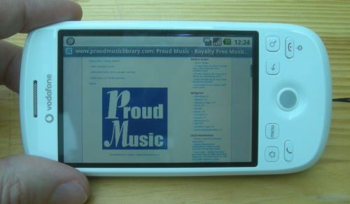 GEMAfreie Musik und Production Music von Proud Music Library goes Android