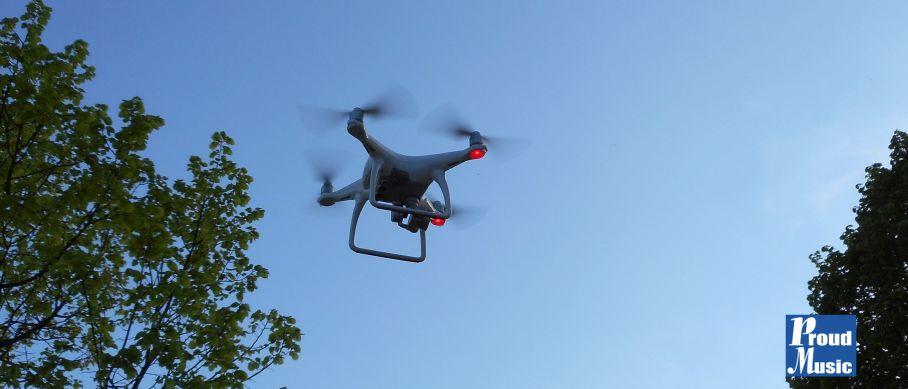 Zunehmend beliebt. Vidoes mit Drohnen und Production Music aus der Proud Music Library