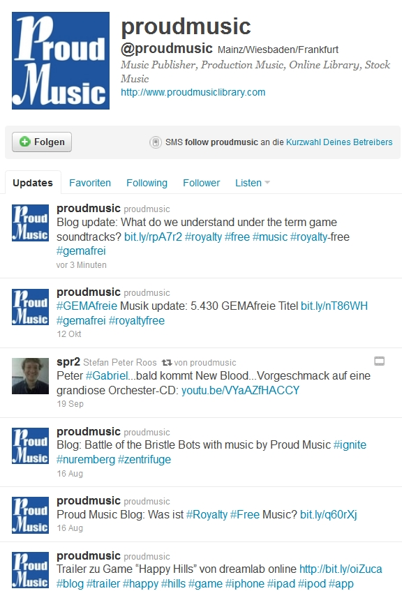 Tweets about Royalty-free music and production music