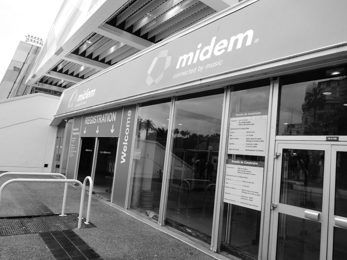 Proud Music Library Publishing was an exhibitor Midem 2014